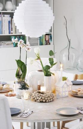 die sch nsten ideen f r deine tischdeko an weihnachten. Black Bedroom Furniture Sets. Home Design Ideas