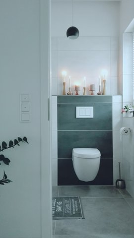 Toiletten deko  Die schönsten Einrichtungsideen für das Gäste WC