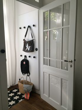 Blick In Den Windfang   DIY Garderobe