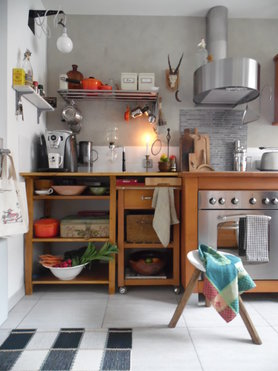 wandgestaltung in der küche: die besten ideen - Kche Ideen Wandgestaltung