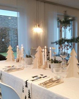 Tischdeko f r weihnachten - Weihnachtstisch dekorieren ...