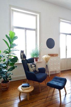 wohnen und einrichten im vintage stil - Wohnzimmer Ideen Retro