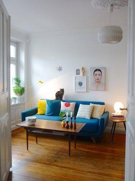 die besten ideen f r die wandgestaltung im wohnzimmer. Black Bedroom Furniture Sets. Home Design Ideas