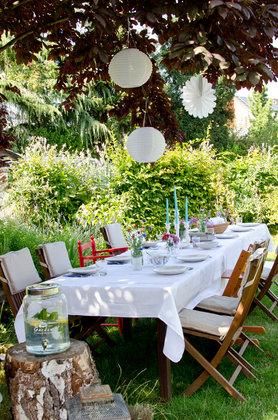 Gartenparty deko rustikal  Party Deko Ideen & Bilder