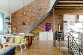Steinwand deko bilder ideen - Backsteinwand wohnzimmer ...