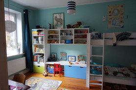 ideen f r das ikea stuva kinderzimmer aufbewahrungssystem. Black Bedroom Furniture Sets. Home Design Ideas