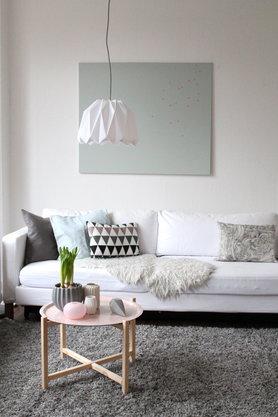 Umschwungneue Farben Im Wohnzimmer