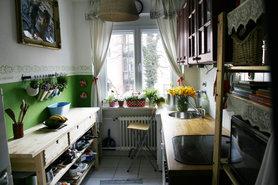 kleine k chen einrichten. Black Bedroom Furniture Sets. Home Design Ideas