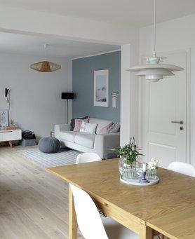 Grau Als Wandfarbe - Dezent Und Edel! Graue Wandfarbe Wohnzimmer