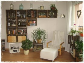 m bel aus obstkisten als upcycling idee. Black Bedroom Furniture Sets. Home Design Ideas