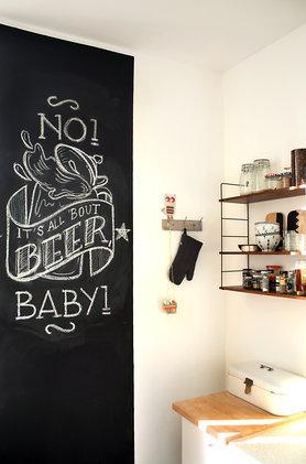 Schone tafelwande 40 bilder aus echten wohnungen for Tafelwand küche