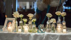 Ideen mit farbverlauf ombr for Brauttisch deko