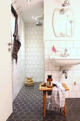Badezimmer Retro - Design