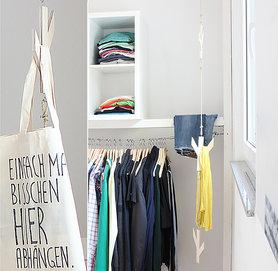 DIY Seil Garderobe