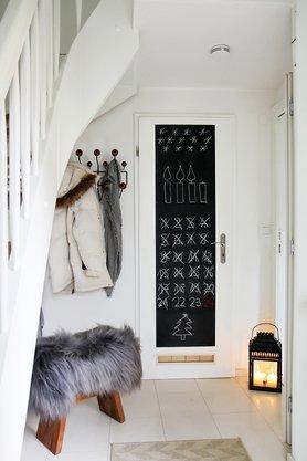 zieleinlauf - Wandgestaltung Treppenhaus Einfamilienhaus