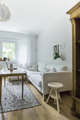 Kleine wohnzimmer einrichten gestalten - Wohnzimmer neu einrichten ...