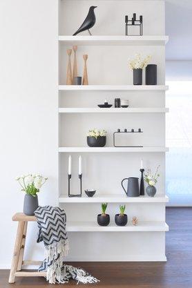 schwarz weiß dekorieren und einrichten - Deko Schwarz Wei Wohnzimmer