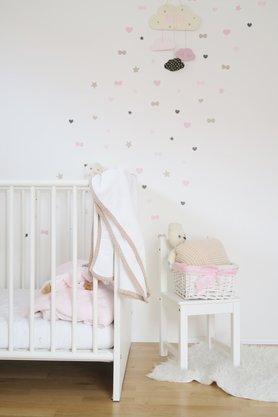 Babyzimmer ideen wandgestaltung  Die schönsten Ideen für dein Babyzimmer