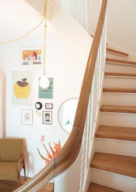 sch ne ideen f r dein treppenhaus. Black Bedroom Furniture Sets. Home Design Ideas