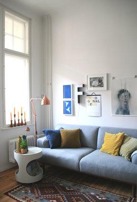 Wohnzimmer grau sofa  Graue Sofas: Ideen für dein Wohnzimmer