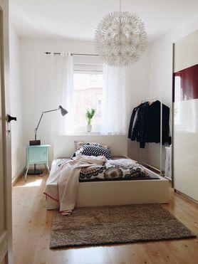 kleine schlafzimmer einrichten gestalten. Black Bedroom Furniture Sets. Home Design Ideas