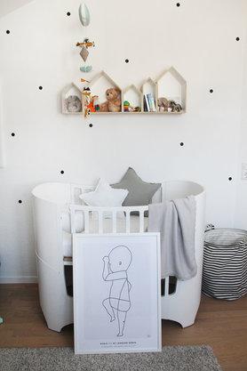 The Birth Poster Zieht Ins Kinderzimmer Ein