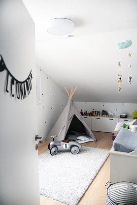 Kindertraum Ein Tipi Zelt Im Kinderzimmer