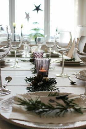 tischdeko f r weihnachten. Black Bedroom Furniture Sets. Home Design Ideas