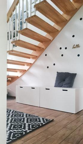 Regal Unter Treppe. Regal Unter Treppe Bauen Zuhause Dekoration ...