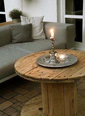 Die sch nsten upcycling ideen for Tisch kabeltrommel