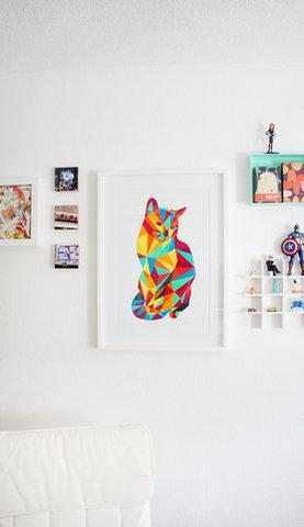 Die besten Ideen für die Wandgestaltung im Arbeitszimmer