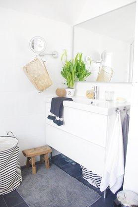 tolle ideen f r kleine b der. Black Bedroom Furniture Sets. Home Design Ideas