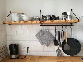 Küchenregale  Ideen für dein Küchenregal