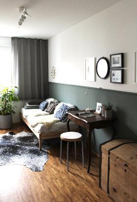 Das Kuhfell Als Dekoidee Und Teppich Kuhfell Wohnzimmer Modern