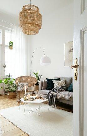 Wohnzimmer skandinavischer stil  Skandinavische Wohnzimmer: Einrichtungstipps und Ideen
