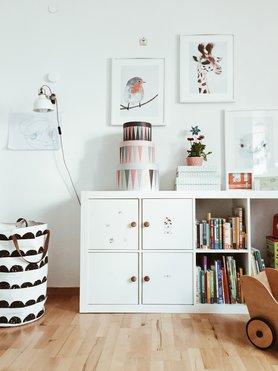 die besten ideen f r die wandgestaltung im kinderzimmer. Black Bedroom Furniture Sets. Home Design Ideas