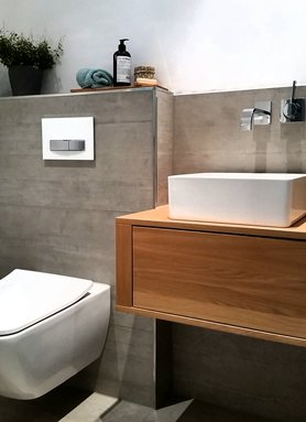 Die sch nsten einrichtungsideen f r das g ste wc for Mein badezimmer