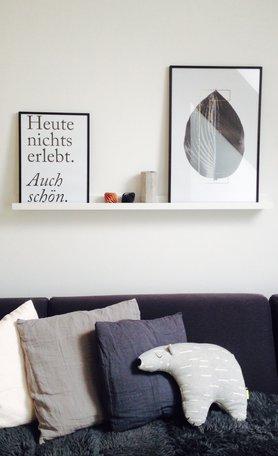 wohnen einrichten und dekorieren mit beton. Black Bedroom Furniture Sets. Home Design Ideas