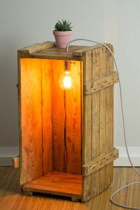 esszimmer lampe selber bauen design. Black Bedroom Furniture Sets. Home Design Ideas
