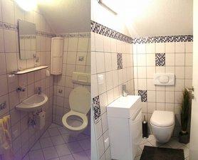die sch nsten einrichtungsideen f r das g ste badezimmer. Black Bedroom Furniture Sets. Home Design Ideas