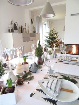 Tischdeko f r weihnachten for Weihnachtstisch dekorieren