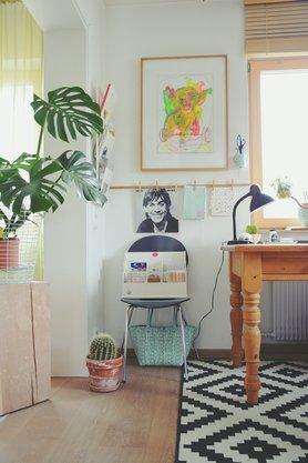 Arbeitszimmer wandgestaltung  Die besten Ideen für die Wandgestaltung im Arbeitszimmer