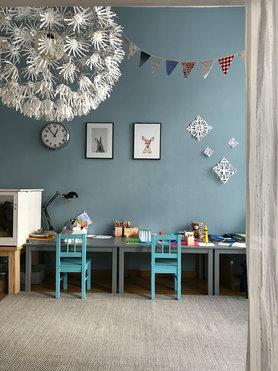Die besten ideen f r die wandgestaltung im kinderzimmer - Aufbewahrungsboxen kinderzimmer design ...