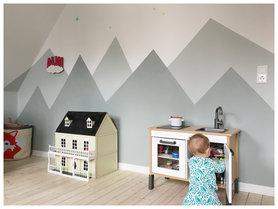 Die besten Ideen für die Wandgestaltung im Kinderzimmer