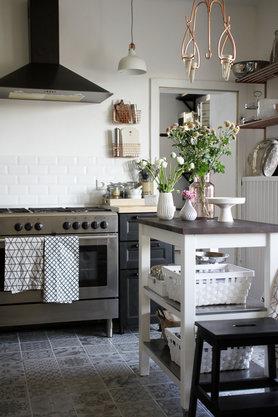 skandinavische k chen. Black Bedroom Furniture Sets. Home Design Ideas