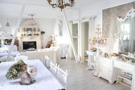 Unser Wohnzimmer Im Shabby Chic