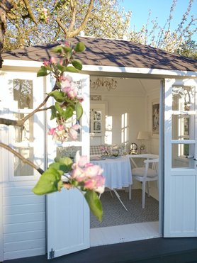 Gartenhaus ideen bilder - Gartenhaus romantisch ...