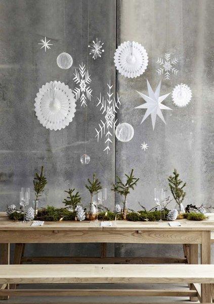 Exceptional Zart In Weiß Und Silber: Anhänger Aus Papier, Draht Und Keramik Von House  Doctor (links) Und Hübsch Interior (rechts)