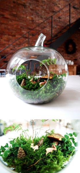 Lieblinge im herbst dekoideen mit hirschen und rehen for Herbstdeko im glas