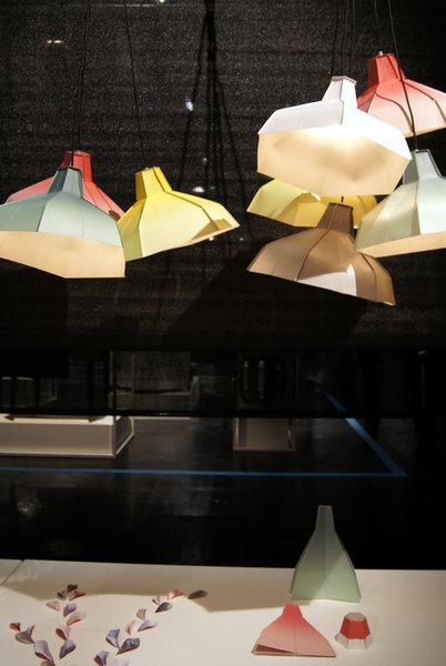 Schön Folded Lampshade Vom Jungen Label Pepe Heycoop (entwarfen Die Paper Vase)  Und Tolle Muster